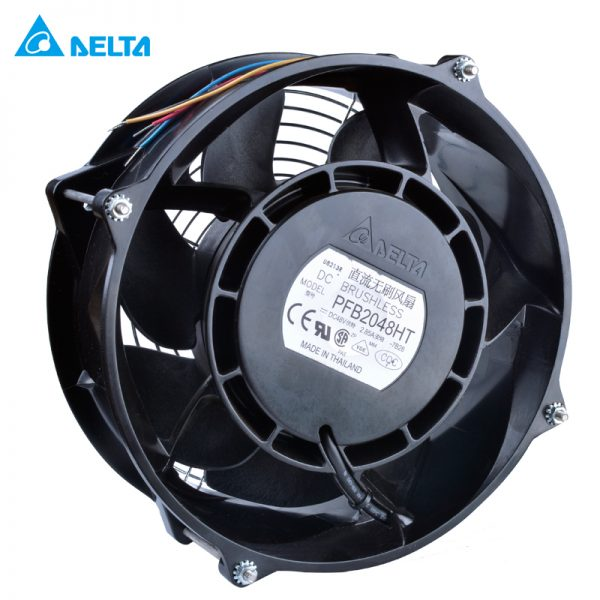 PFB2048HT-TP37 DELTA 208x208x70mm 48V 2.85A FAN AXIAL DC WIRE cooling fan