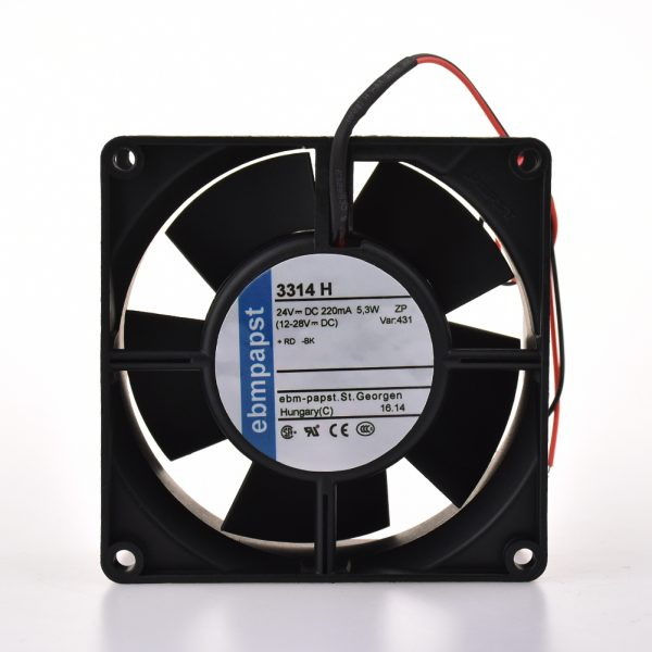 For ebmpapst 24V 5.3W Ball bearing 220MA 3314H High end equipment fan
