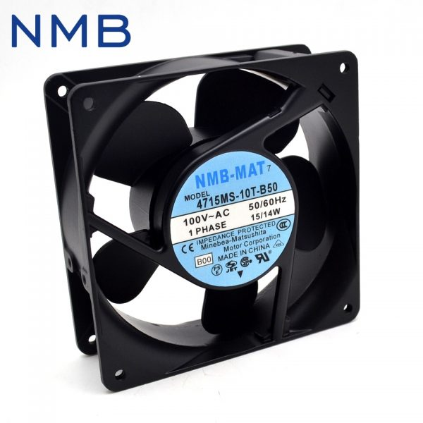 New and Original 12038 4715MS-10T-B50 100V 15 / 14W UPS power supply cooling fan for NMB 120*120*38mm