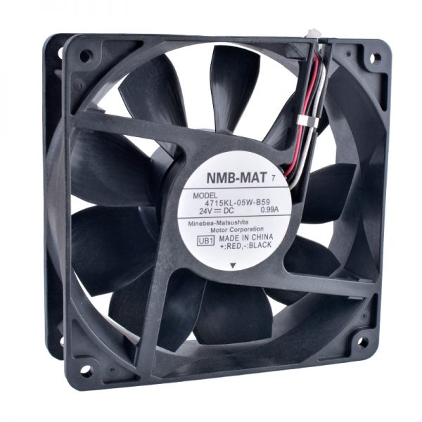 COOLING REVOLUTION 4715KL-05W-B59 12CM 120mm 12038 24V 0.99A Double ball bearing air volume inverter server IPC cooling fan