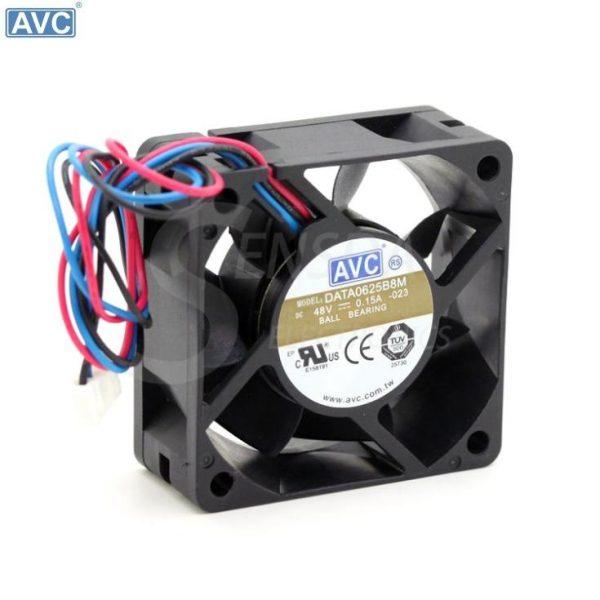 AVC DATA0625B8M 6CM 6025 60*60*25mm 60mm DC 48V 0.15A Dual Ball inverter cooling fans cooler