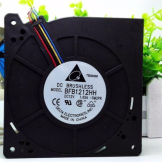 Delta BFB1212HH 12CM 12032 DC 12V 1.65A 4-pin 4 Lines Blower Server Inverter Cooling Fan