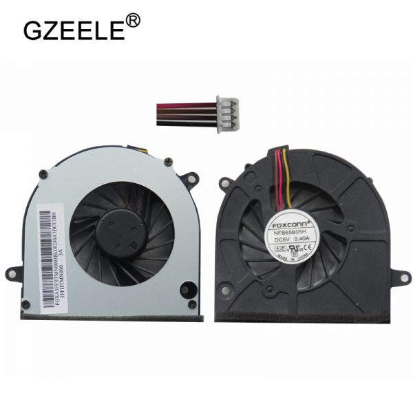 GZEELE Laptop cpu cooling fan for Lenovo G460 G460A Z565 Z460A G465 Z465 Z560A Z560 Z460 G560 G565 Notebook cpu Cooler 4 Lines