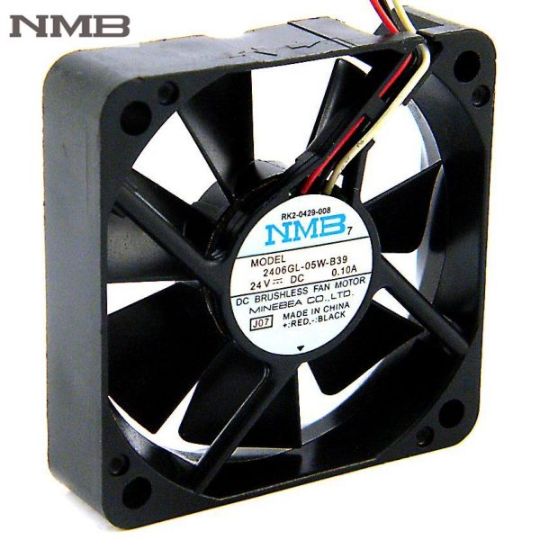 NMB 2406GL-05W-B39 6CM DC 24V 0.1A 6015 60mm fan IPC inverter computer cooling fan