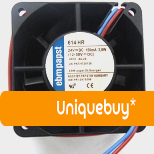 For ebmpapst 614HR 6cm 3.8W 150MA 24VDC Frequency conversion fan