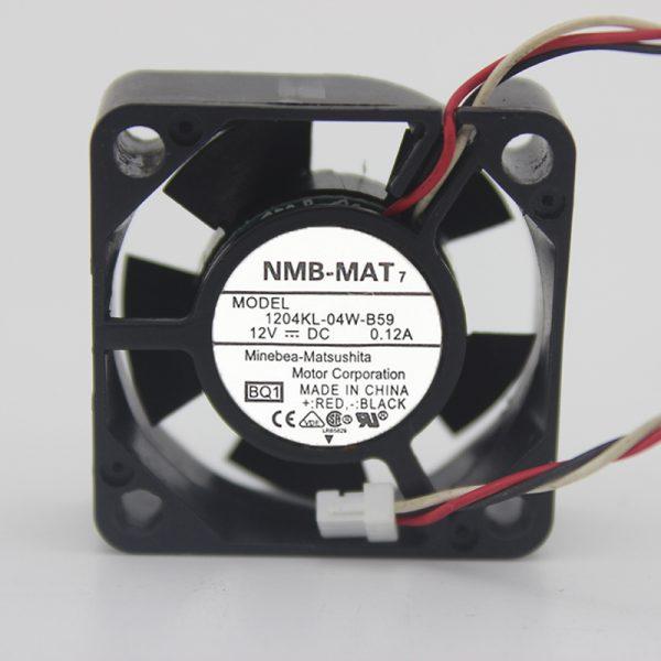 Original 1204KL-04W-B59 3010 12V 0.12A 3CM inverter fan