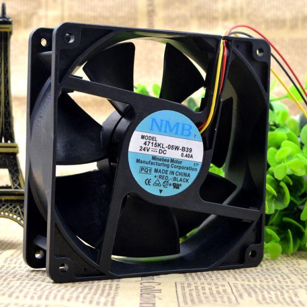 Free Delivery.kl 4715-05 w - B39 24 v 0.4 A 12 cm 12038 lathe 24 v inverter fan