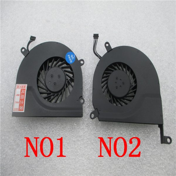 "New Notebook CPU Cooler Fan L OR R Side For Apple MacBook Pro 15"" A1286 2008 2009 2010 2011 2012 661-4952 922-8703 SUNON"