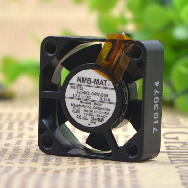 Free Delivery.1204 kl - B59 3010-04 w 12 v 0.12 A 3 cm yaskawa inverter fan