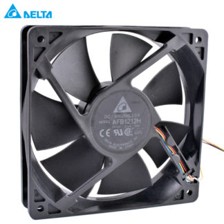 DELTA AFB1212H 12025 120mm fan 120x120x25mm 12V 0.35A Computer CPU fan