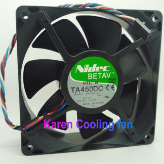 free shipping Nidec 12cm 12038 12V 1.4a TA450DC B35502-35 cpu cooler heatsink axial Cooling Fan