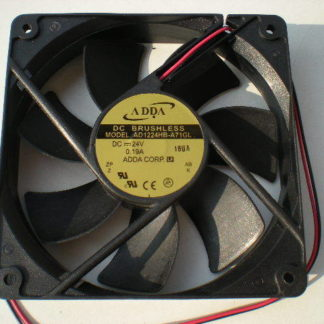 New original Taiwan ADDA AD1224HB-A71GL 12025 24V 120 * 120 * 25MM cooling fan axial fan