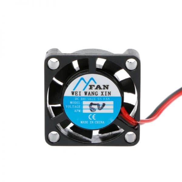 ANENG 25*25*7mm DC 5V 12V 2-Pin Cooler Brushless Chipset Heatsink Mini Cooling Fan 2507