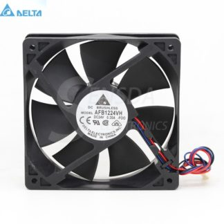 Delta afb1224vh DC24v 12025 120mm 12cm 0.35A server inverter axial blower radiator cooler COOLING FANs