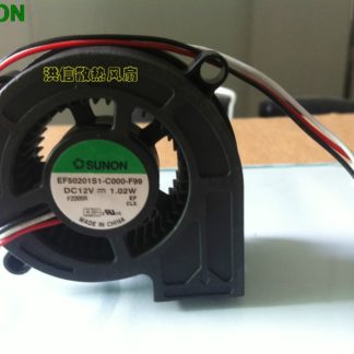 SUNON EF50201S1-C000-F99 5020 DC12V 1.02W 3Wire Projector Cooling Fan