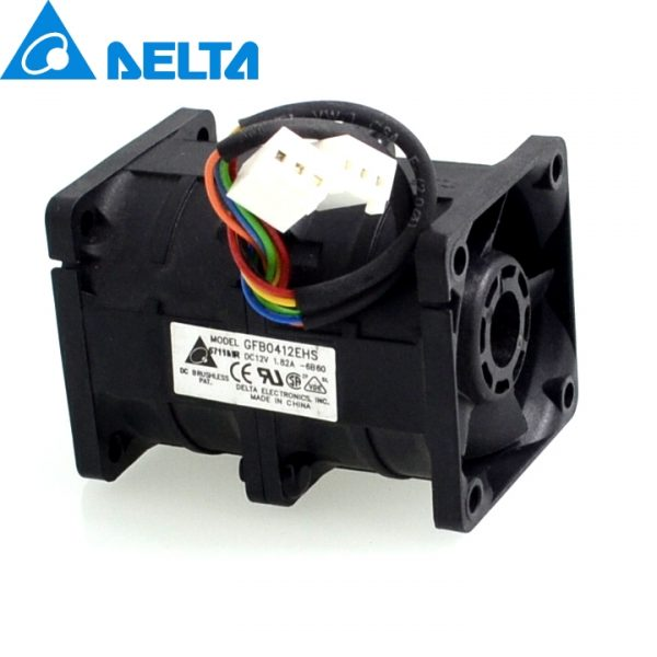 Delta New booster fan 12V 1.82A GFB0412EHS motorcycle engine super car radiator cooling violence 4056 40*40*56mm
