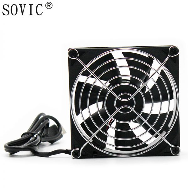 90mm x 25mm DC 5V usb Computer Case CPU Cooler Cooling Fan
