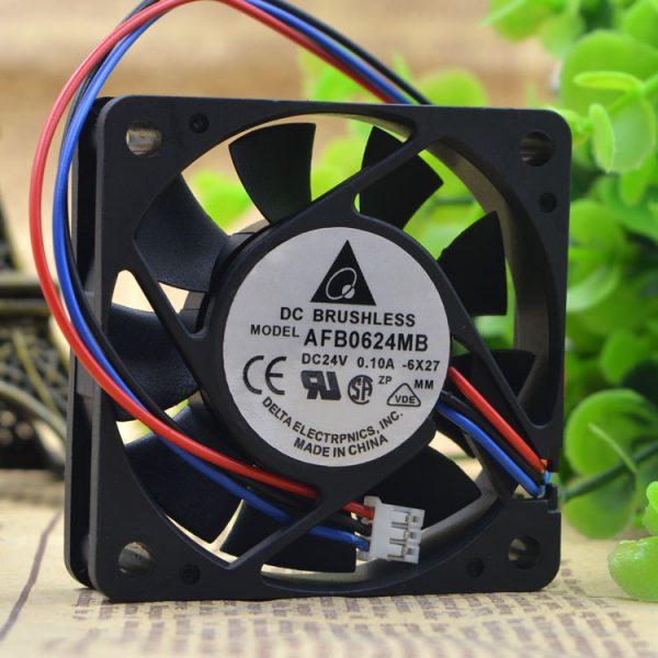 Free Delivery.6015 cm / 6 cm AFB0624MB 24 v 0.10 A 3 line inverter fan