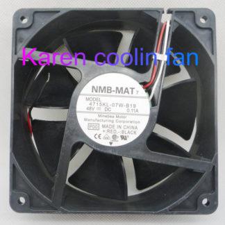 New Original NMB 12CM 4715KL-07W-B19 12038 48V 0.11A Cooling Fan
