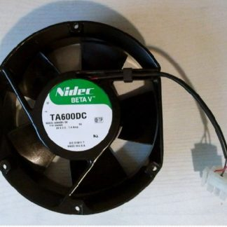 New Nidec TA600DC A34438-59 EX DC24V 1.4mp 127 * 151 * 51MM UPS power supply fan