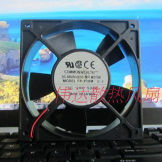 Original FP-108M S-1 120 * 120 * 25 DC 24V 0.24A Cooling fan