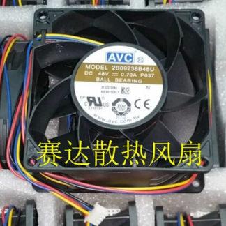 Wholesale: AVC 9238 48V 0.7A 2B09238B48U 90*90*38MM 4 wire inverter cooling fan