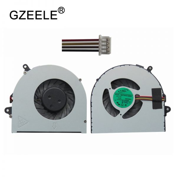 GZEELE new laptop Cooling fan for lenovo G480 G480A G480M G485 G580 G585 CPU fan Cpu Cooler Radiators Notebook 4 pin fan