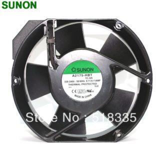 Sunon A2175 HBT AC Fan 171x151x5 mm 17CM 17251 230VAC 50 60Hz