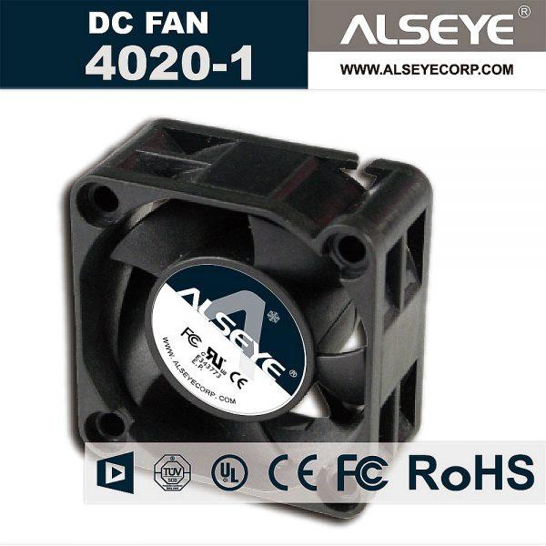 ALSEYE 4020 DC cooling fan 12v 0.16A 6000RPM hydraulic bearing mini cooler 40mm fan radiator 40 x 40 x 20mm high quality fan