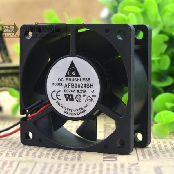 Free Delivery.AFB0624SH 6025 24 v 0.21 A 6 cm 2 line frequency converter air cooling fans