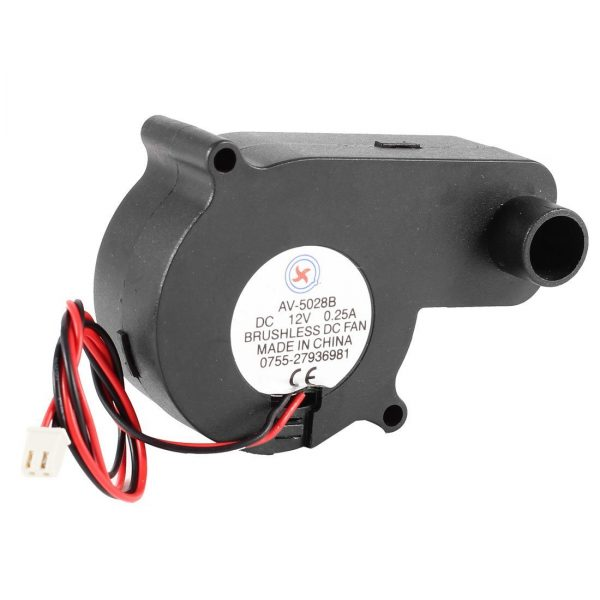 For Laptop 2 Terminals CPU Cooler Cooling Blower Fan 12VDC 0.25A Black