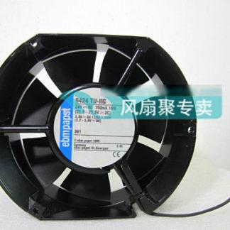 Original Germany ebmpapst 6424 TU-IIC 24V 18W 17cm17251 waterproof aluminum box fan
