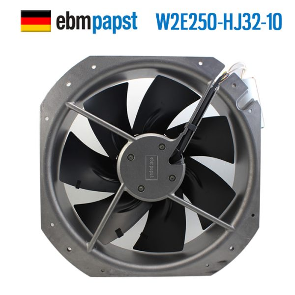 ebmpapst W2E250-HJ32-10 AC 115V 1.02A 0.42A 115W 160W 280x280x80mm Server Square fan