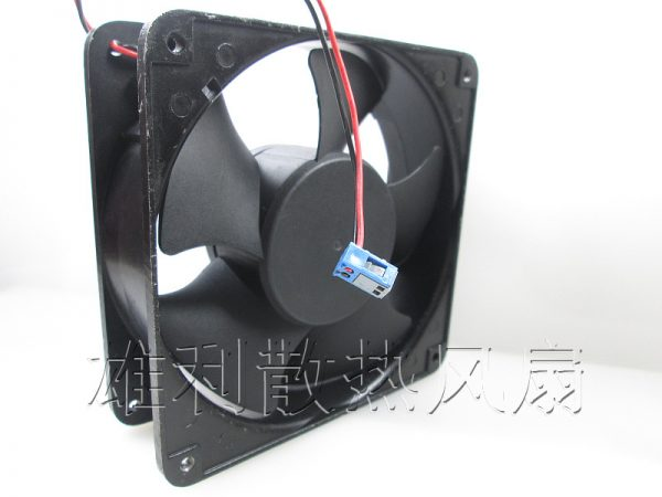 Free delivery.12038 KD2412AMBX-6A 24V 7.2W two-wire inverter chassis fan