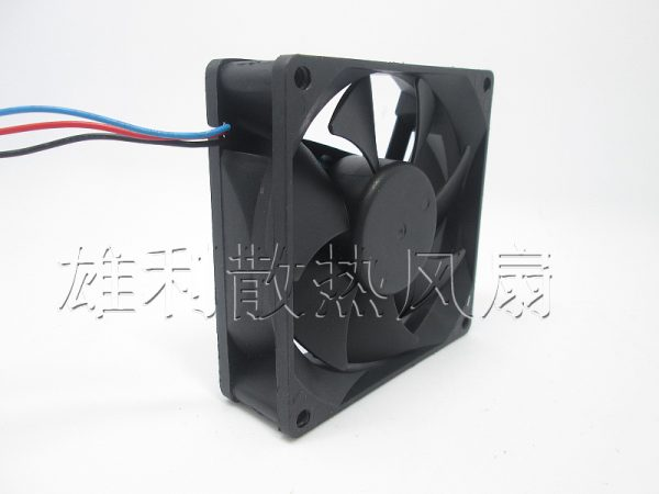Free Delivery.RDD8025B4-R44AG01 48V 0.10A 3-wire cooling fan 80 * 80 * 25MM