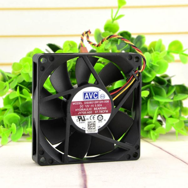 New original DS08015R12H-006 8015 8CM 12V 0.50A chassis power supply fan