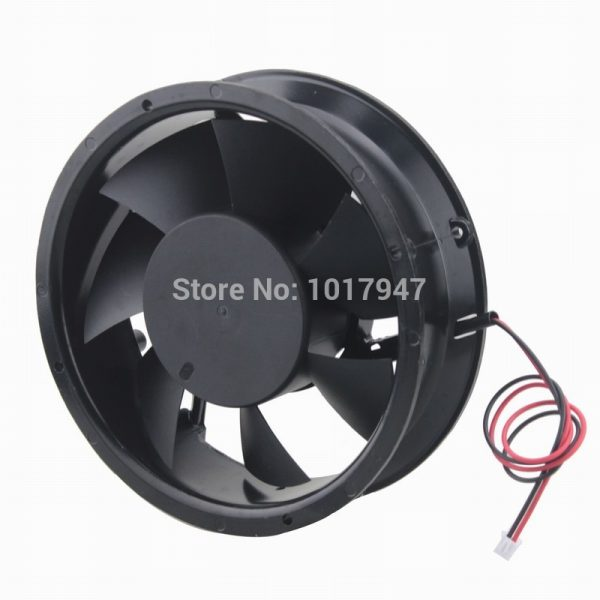 5 Pieces LOT Gdstime DC 24V 2Pin 17251 172x51mm Radiator Cooler Cooling Fan Industrial Ball Bearing