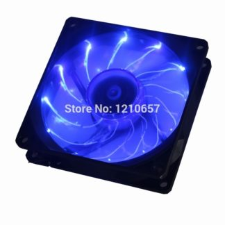 1PCS Gdstime 90mm LED Blue 3pin PC Desktop Computer Case Cooling Cooler Fan Low Noise 92x25mm