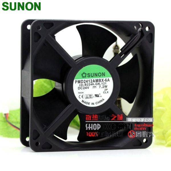 Sunon PMD2412AMBX-6A 12038 24V 7.2W 12CM inverter axial inverter fan