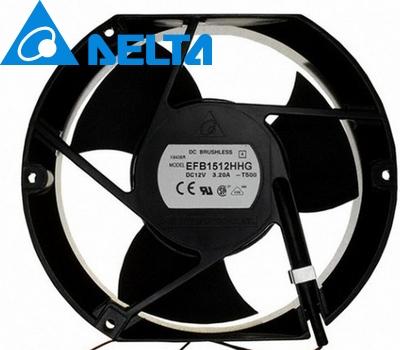 EFB1512HHG 17CM 17*15*5.1CM 170*150*51MM 1750 17251 12V 2A cooling fan