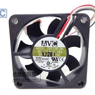 Free shipping original AVC C5010B12M 3 wires 5cm fan DC 12V 0.15A server inverter cooler