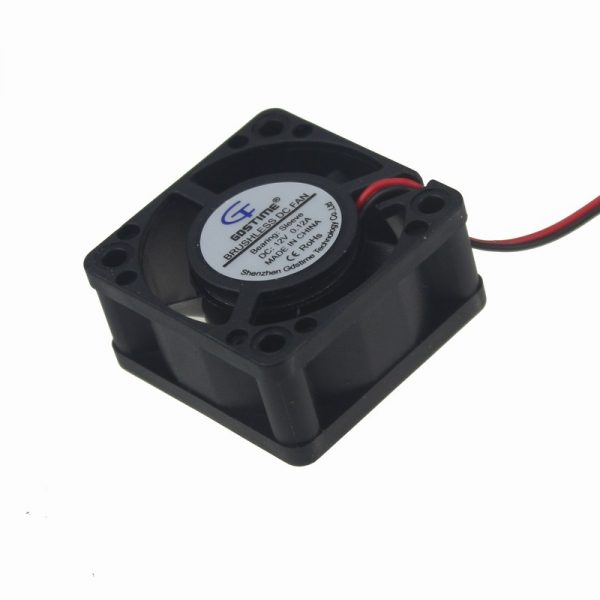 Gdstime 1 pcs 4020 DC 12V 40x40x20mm Inverter Power Mini Brushless Cooling Fan 40mm Computer Case Cooler 1.57 inch 4cm