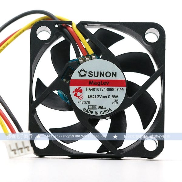 Original SUNON HA40101V4-000C-C99 4010 12V 0.8A 40 ultra-quiet North and South Bridge fan 4CM...