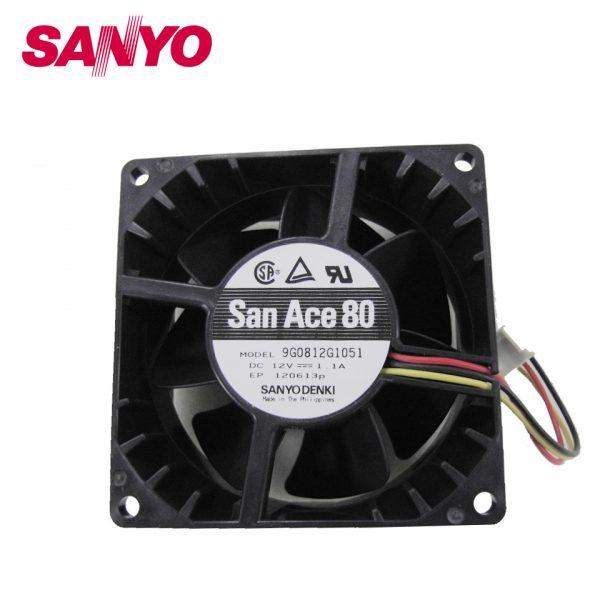 Brand new original inverter cooling fan 9G0812G1051 12V Server 80*80*38mm