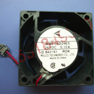 New Original Nidec Inverter fan for Yaskawa MMF-06D24ES ROK 24V 0.10A 60*60*25MM