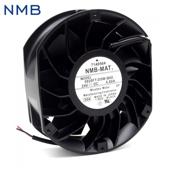 Free Shipping new NMB-MAT7 5920FT-D5W-B60 Free 24V 4.80A cooling fan