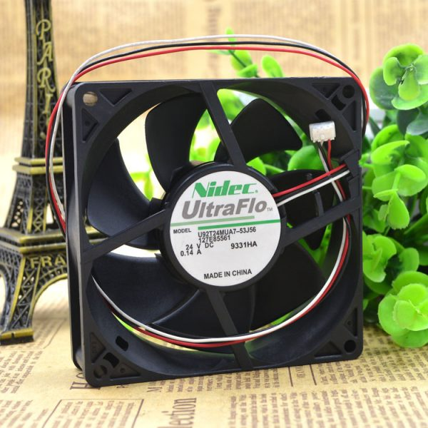 Free Delivery. 53 j56 U92T24MUA7-9025 24 v inverter fan A 9 cm / 0.14 cm