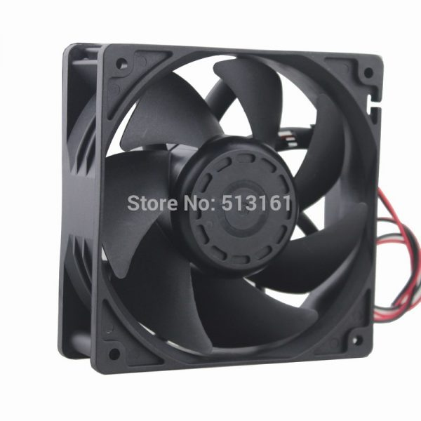 1Pcs Gdstime 12038 12cm 120mm 48V 0.25A Double Ball Bearing Server Cooling Fan