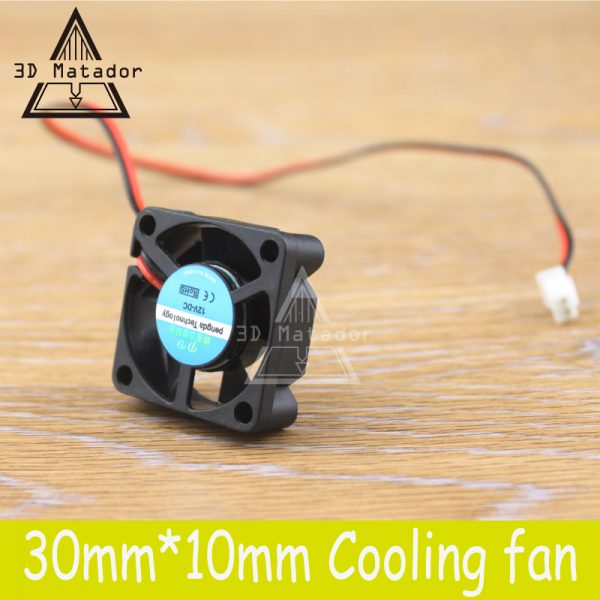 Hot Sale !1pcs Brushless DC Cooling 5 Blade Fan with 2pin-ph 3010 3cm 30mm 12V/24V 30x30x10mm 3D printer part