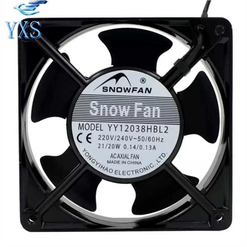 Yy12038hbl2 Ac220v 12cm 12038 120 38mm Cabinet Fan Ac Cooling